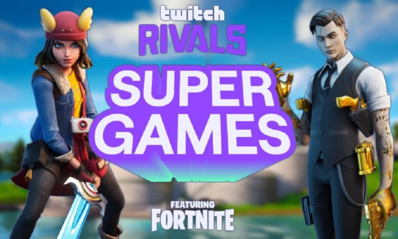 Twitch Rivals Supergames